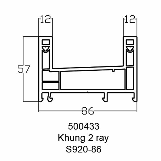 Khung 2 ray s920-86