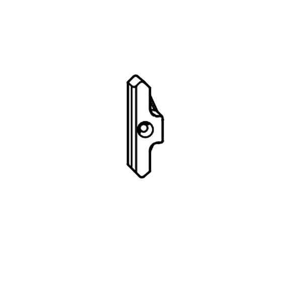 Vấu cài đơn cửa đi 1 cánh thông phòng (Veka)